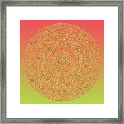 Mandala Meditation 2 V2 Framed Print