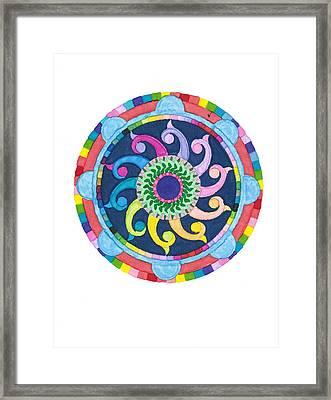 Mandala Meditation I Framed Print