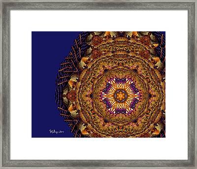 Mandala Of Pure Presence Framed Print