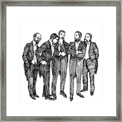 Mandate Framed Print by Karl Addison