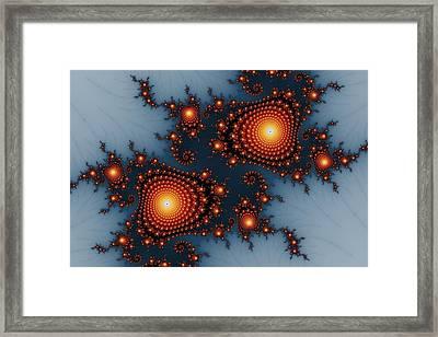 Mandelbrot Byways No. 6 Framed Print by Mark Eggleston