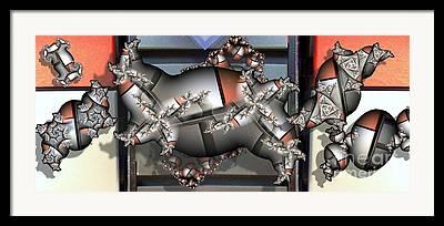 Cubicle Detail Framed Prints