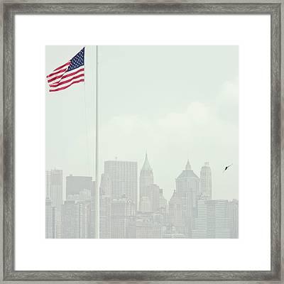 Manhattan Framed Print by Image - Natasha Maiolo