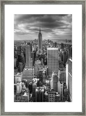 Manhattan01 Framed Print by Svetlana Sewell