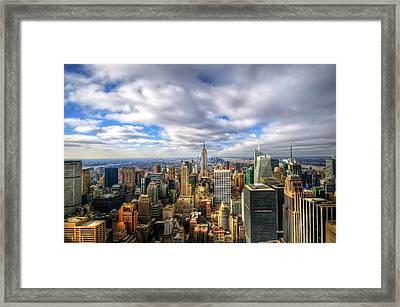 Manhattan05 Framed Print by Svetlana Sewell