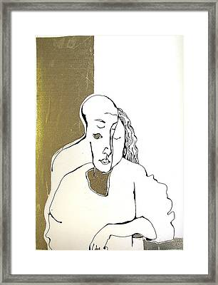 Mani Framed Print by Nina Mirhabibi