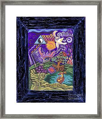 Manifest Destiny Framed Print by Genevieve Esson