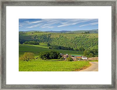 Framed Print featuring the photograph Manifold Valley - Staffordshire by Rod Jones