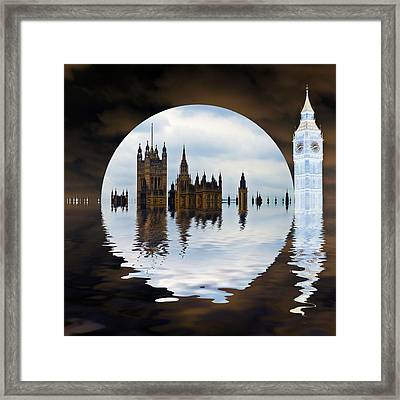 Manipulated Politics Framed Print by Sharon Lisa Clarke
