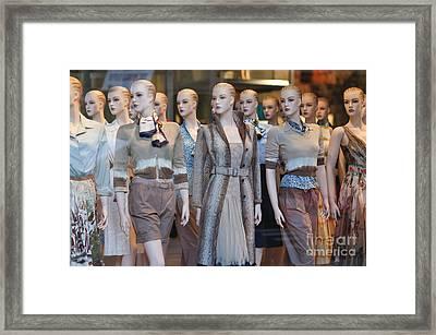 Mannequins I Framed Print by Clarence Holmes