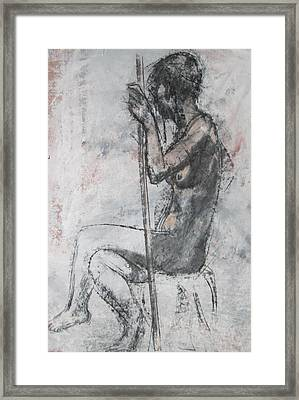 Mannerist Nude Framed Print by Julianna Ziegler