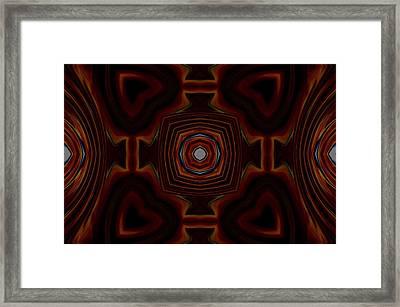 Mantle Framed Print by Chad Wasden