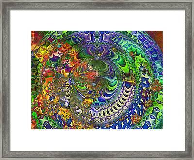 Mantrea  Framed Print