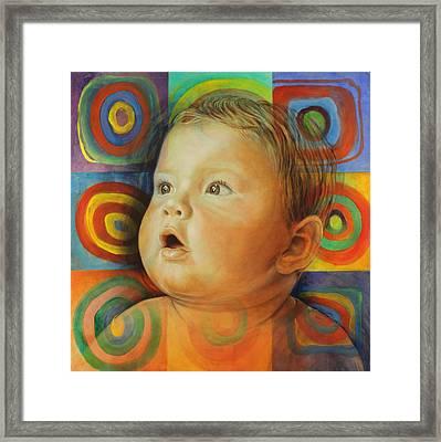 Manuel's Portrait Framed Print
