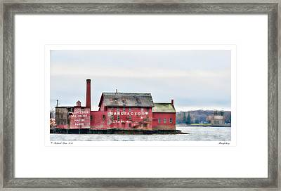 Manufactory Framed Print by Richard Bean