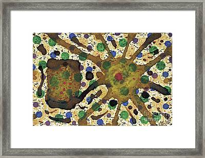 Map Of Chance Framed Print