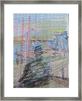 Maple Leaf Quay Framed Print