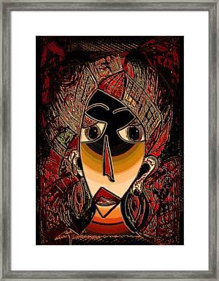 Marali Framed Print