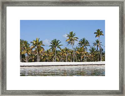 Marathon Key Framed Print