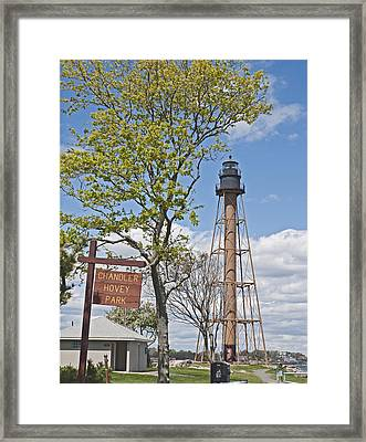 Marblehead Light House Framed Print