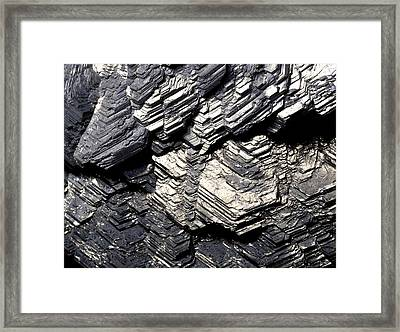 Marcasite Mineral Framed Print by Dirk Wiersma