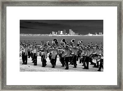 March On Framed Print by David Lee Thompson