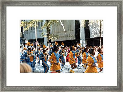 Framed Print featuring the photograph Marching To A Different Drumer by Tanya Tanski