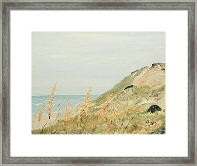 Marconi Beach Framed Print