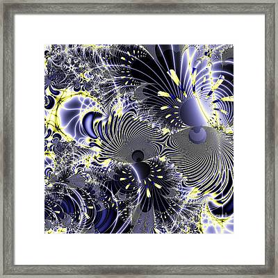 Mardi Gras . Square Framed Print by Wingsdomain Art and Photography