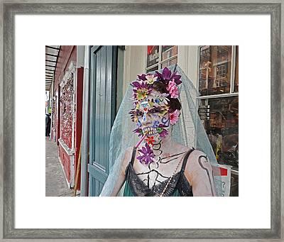 Mardi Gras Voodoo In New Orleans Framed Print