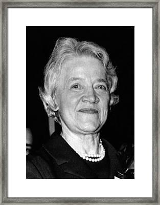 Margaret Chase Smith, 1897-1997 Framed Print by Everett