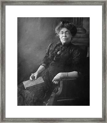 Margaret James Murray Washington Ca Framed Print by Everett
