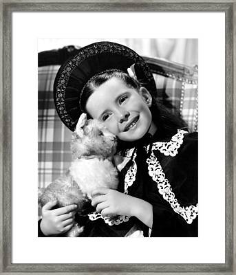 Margaret Obrien, 1942 Framed Print by Everett