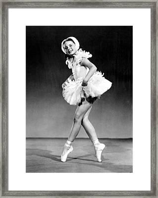 Margaret Obrien, Ca. 1940s Framed Print by Everett