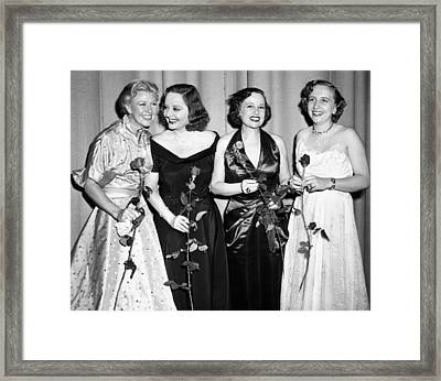 Margaret Truman, The Presidents Framed Print by Everett