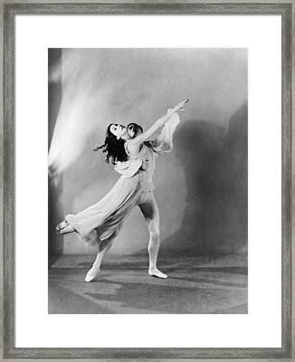 Margot Fonteyn 1919-1991 And Michael Framed Print by Everett