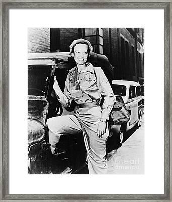Marguerite Higgins Framed Print by Granger