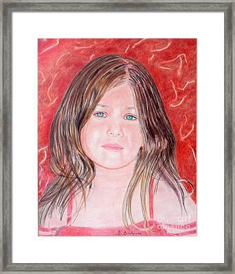Maria Framed Print by Kostas Dendrinos