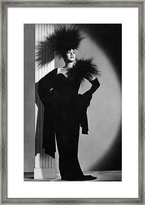 Maria Montez, Ca. Mid-1940s Framed Print by Everett