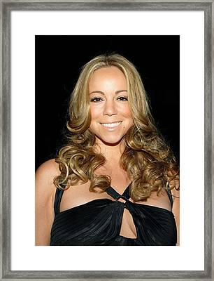 Mariah Carey At Arrivals For 2008 Framed Print by Everett