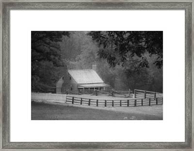 Mariah Wright House Appomattox Virginia Framed Print by Teresa Mucha