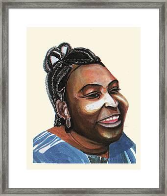 Mariama Ba Framed Print