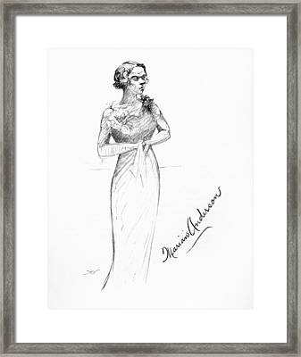 Marian Anderson (1897-1993) Framed Print by Granger