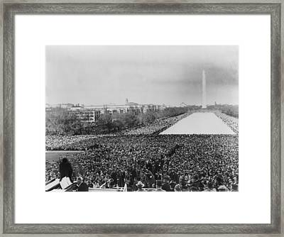Marian Anderson 1897-1993, Lower Left Framed Print
