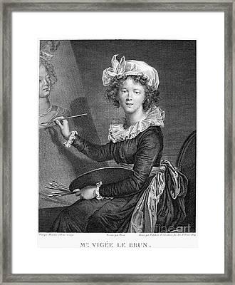Marie Anne Vigee-lebrun Framed Print by Granger