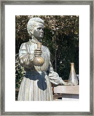 Marie Curie, Polish-french Physicist Framed Print by Sheila Terry