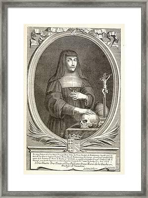 Marie-felicite Montmorency Framed Print by Granger