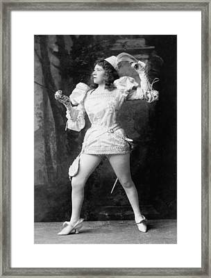 Marie Tempest 1864-1942 English Framed Print