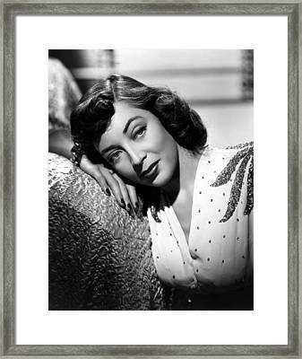 Marie Windsor, 1946 Framed Print