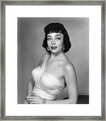 Marie Windsor, 1955 Framed Print